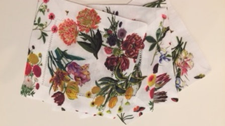 Nicolette Mayer linen cocktail napkins