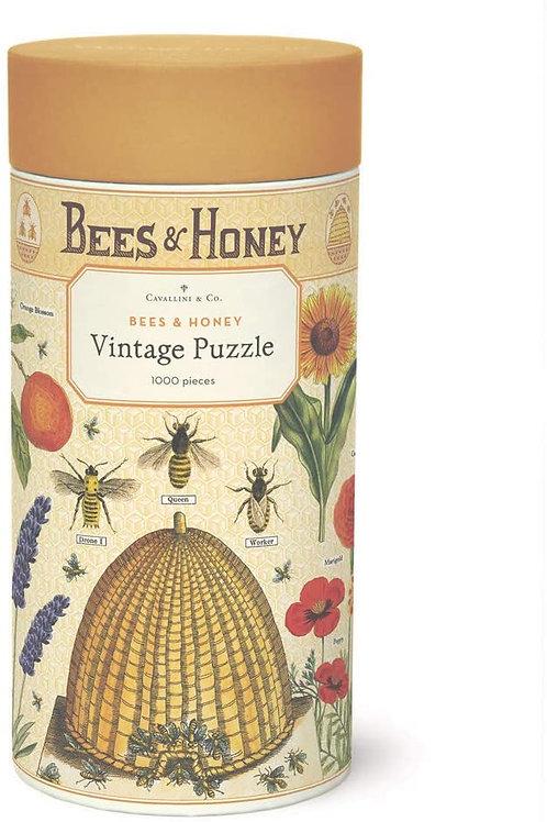 Cavallini Honey & Bees Puzzle