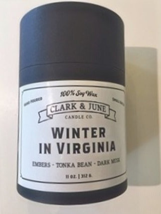 Custom Winter in Virginia Soy Candle