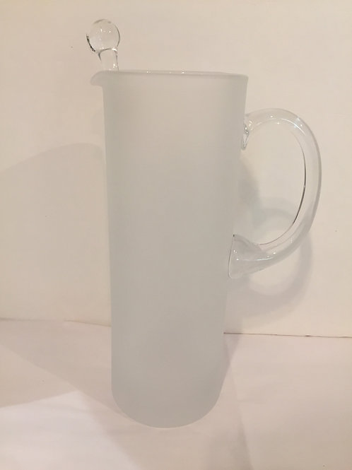 Martini Pitcher with Glass Stirrer