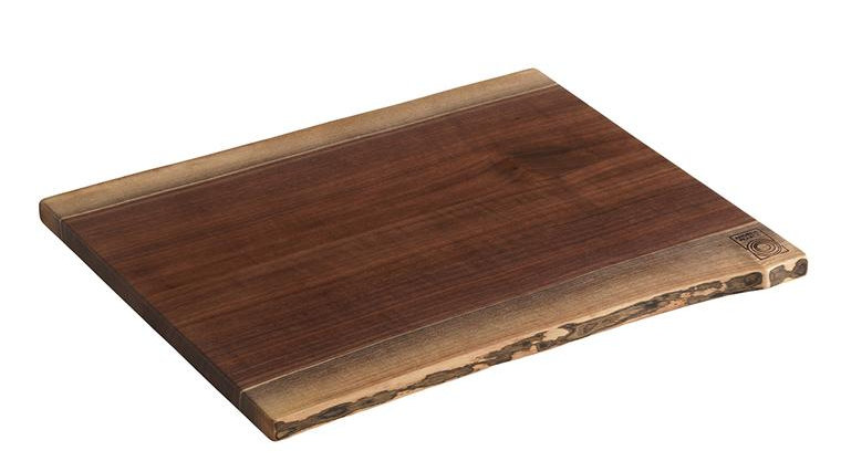Double Live Edge Black Walnut Board - Large