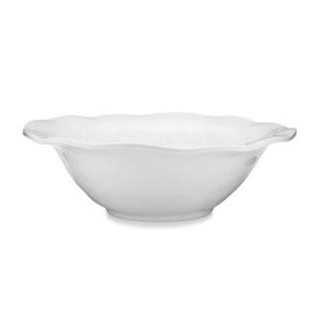 Melamine Ruffle Round Serving Bowl