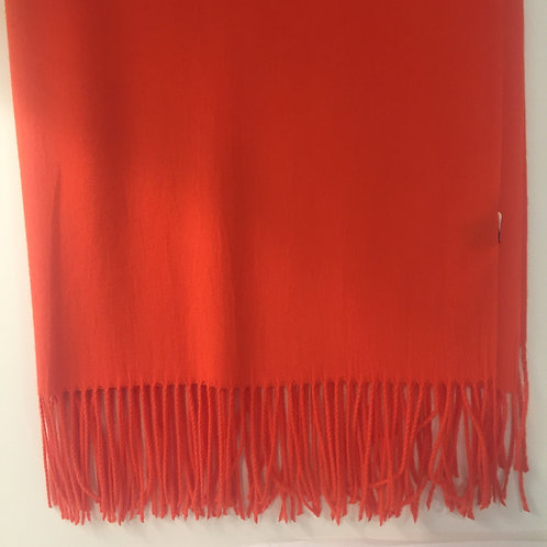 Cashmere and Modal Blend Pashmina Orange