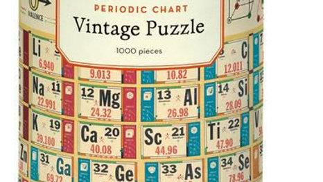 Cavallini Periodic Chart  Puzzle