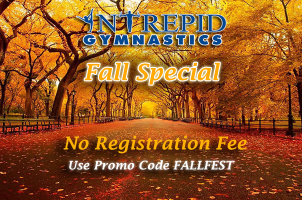 Fall Special - No Registration Fee