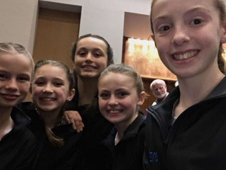Intrepid Gymnastics Successful in Debut Meet