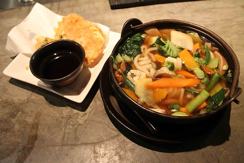 Vegetarian Nabeyaki Sushi Main Street