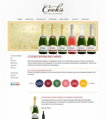 Cook's California Champagne