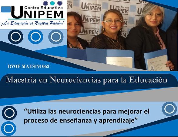 Maestría en Neurociencias para la educac