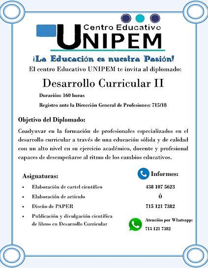 5_ Diplomadoen desarrollo curricular II.