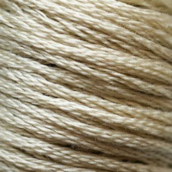 DMC Embroidery Thread/ 613 V LT Drab Brown