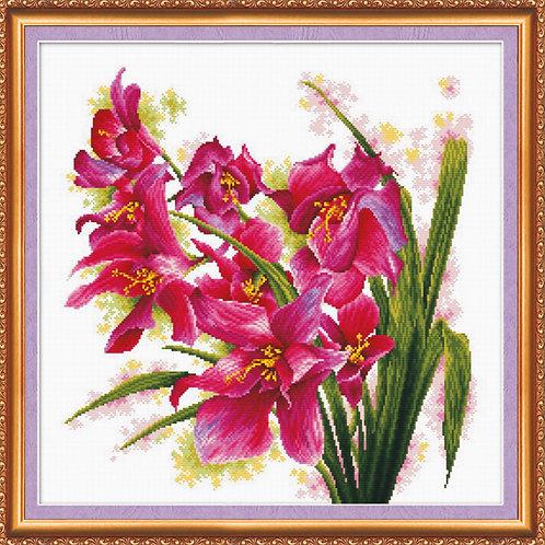 Purple Orchids - Abris Art, Ukraine