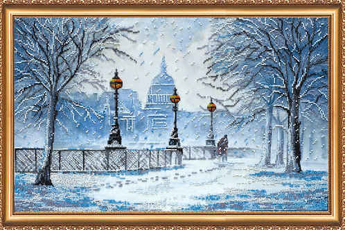 Snowstorm Embroidery Kit