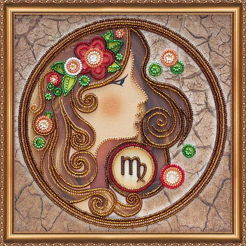 Virgo Embroidery