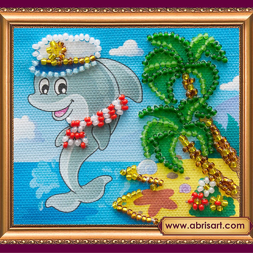Playful Captain Abris Art embroidery kit