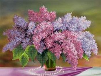 Bouquet of Lilacs – Kartiny Biserom, Ukraine