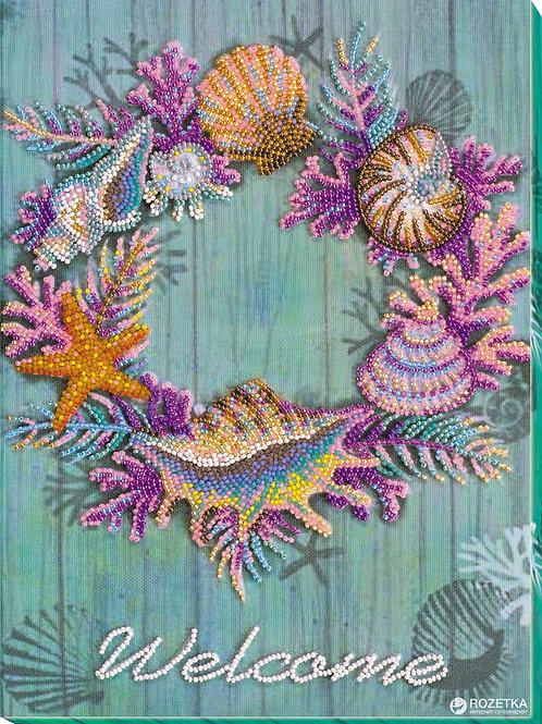 Wreath of Shells - Abris Art, UA