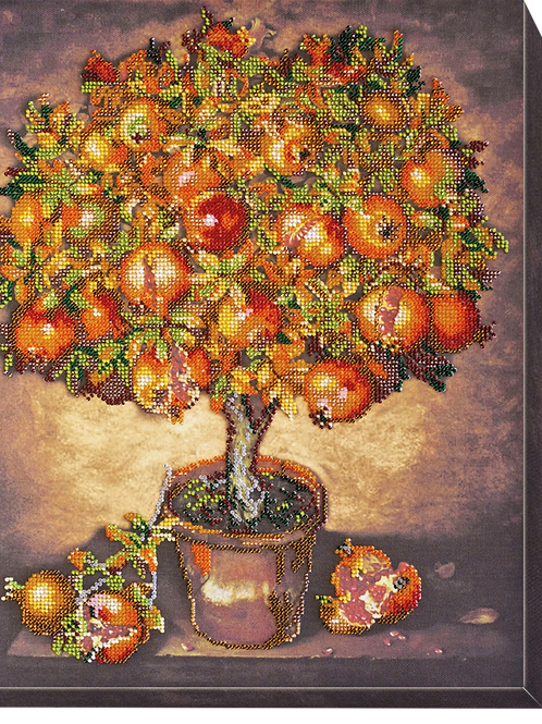 Pomegranate Tree Abris Art embroidery kit