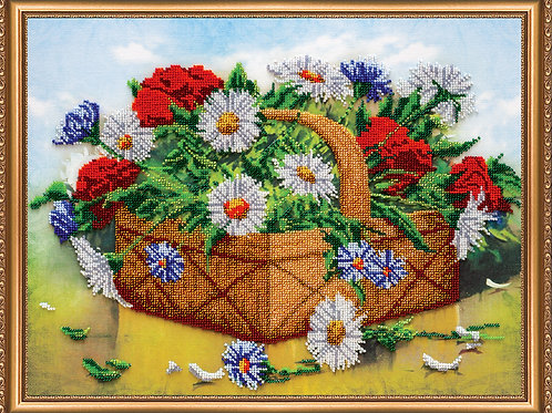 Basket of Summer Embroidery Kit