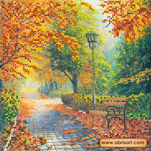 Autumn, Abris Art, beads embroidery kit