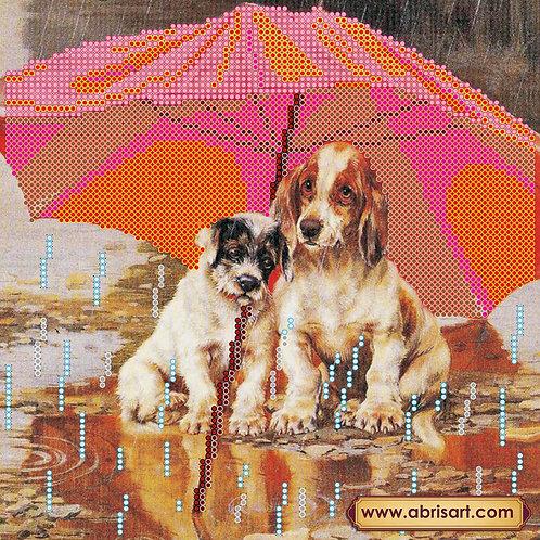 Best Friends, Abris Art, embroidery kit