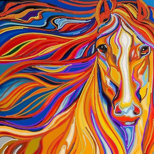 Flaming Horse – Kartiny Biserom, Ukraine
