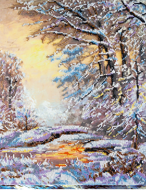 Crystal Winter Abris Art embroidery kit