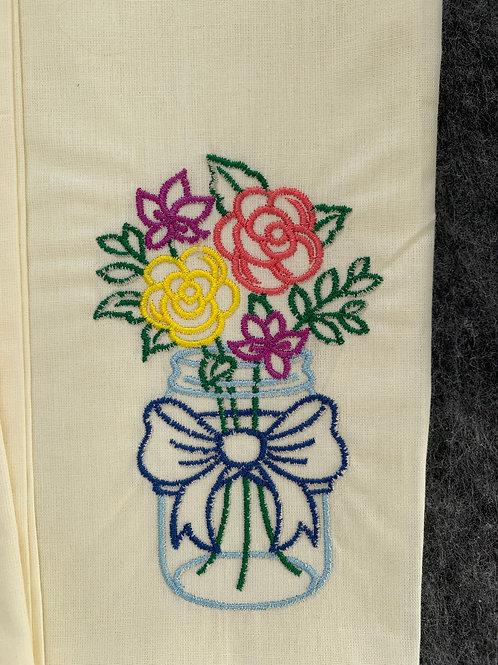 Tea / Kitchen Towels Set - 45x60 cm - butter /5 pcs