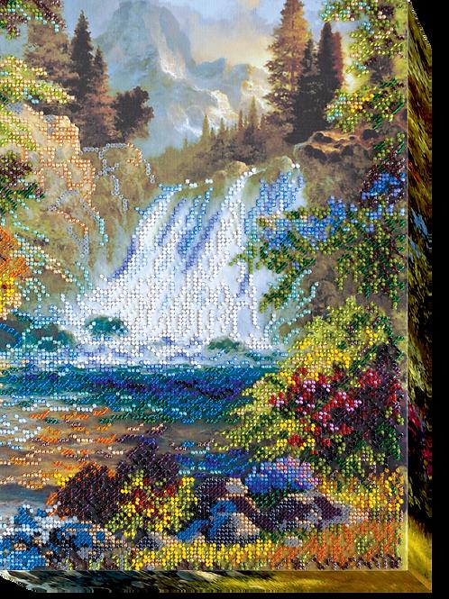 Waterfall Abris Art embroidery kit