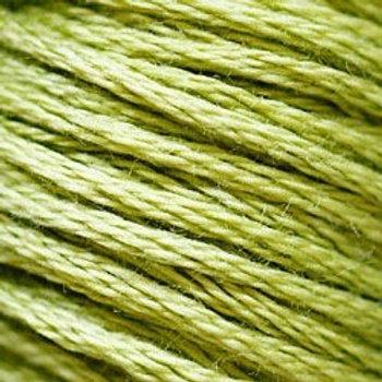 DMC Embroidery Thread/ 471 V LT AVocado Green