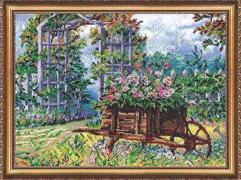 Garden Embroidery Kit