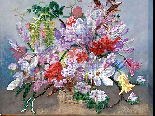 Purple Twilight Abris Art embroidery kit
