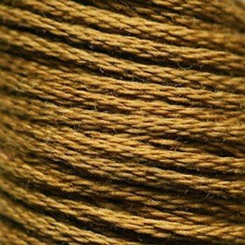DMC Embroidery Thread/ 829 V DK Golden Olive
