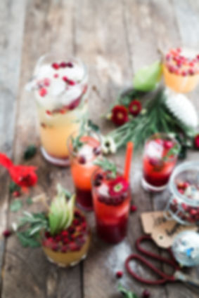 Fruit cocktails, Party Venue Hire Wales