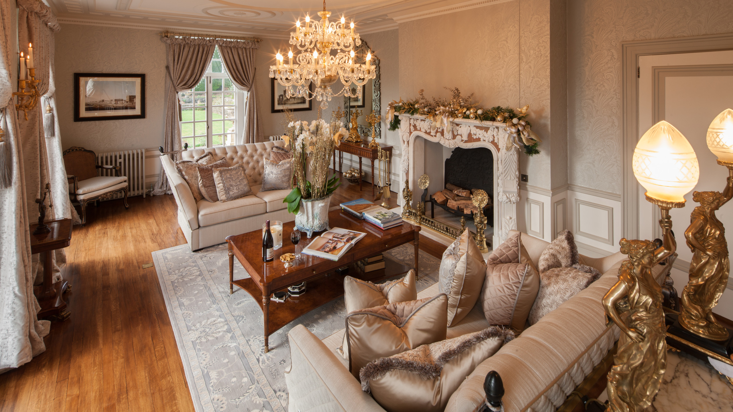 Luxury sitting room, meeting room hire Monmouthshire