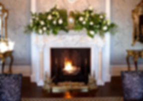 Fireplace, meeting venue hire monmouthshire