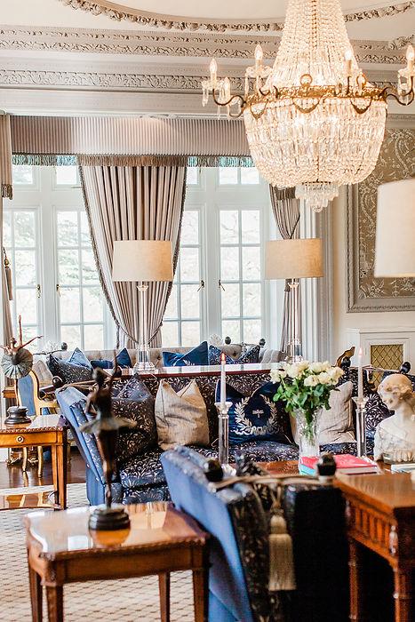 Edwardian style living room, getaways in Wales