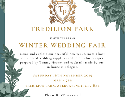 Tredilion Park - Winter Wedding Fair