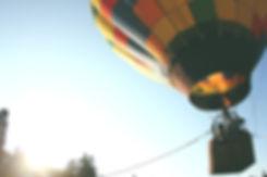 Hot air balloon, venue hire South Wales