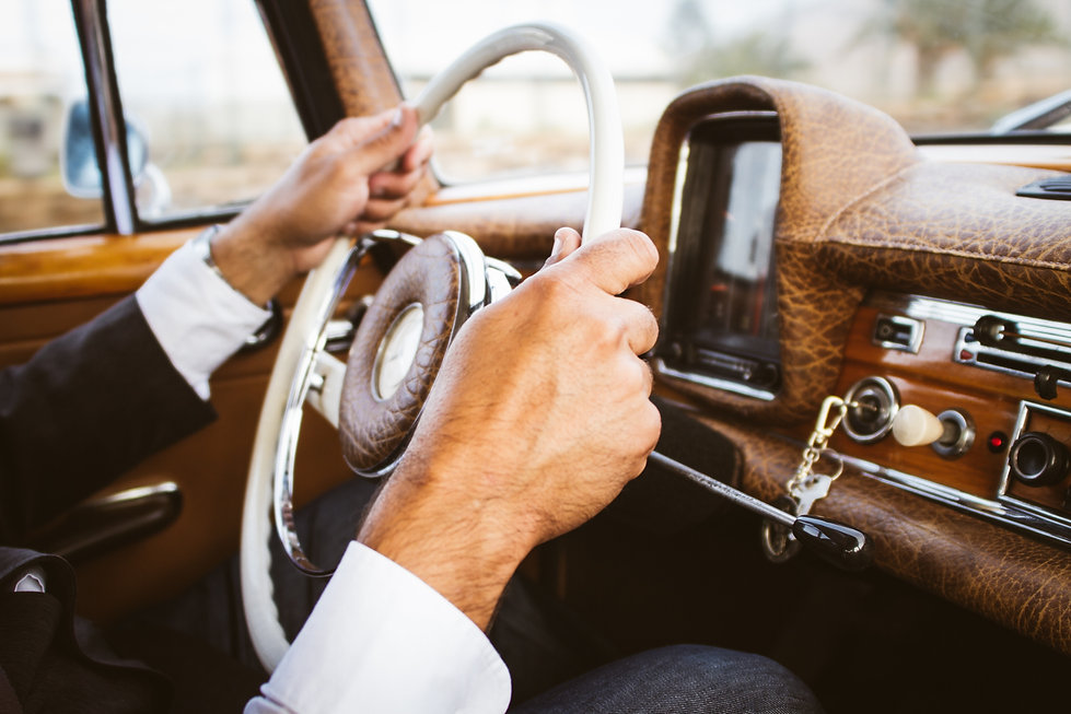 Classic car, Wedding Venue Monmouth