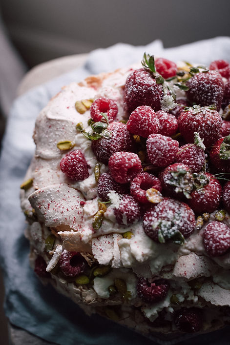 Meringue cake, Party Venue Hire Monmouthshire