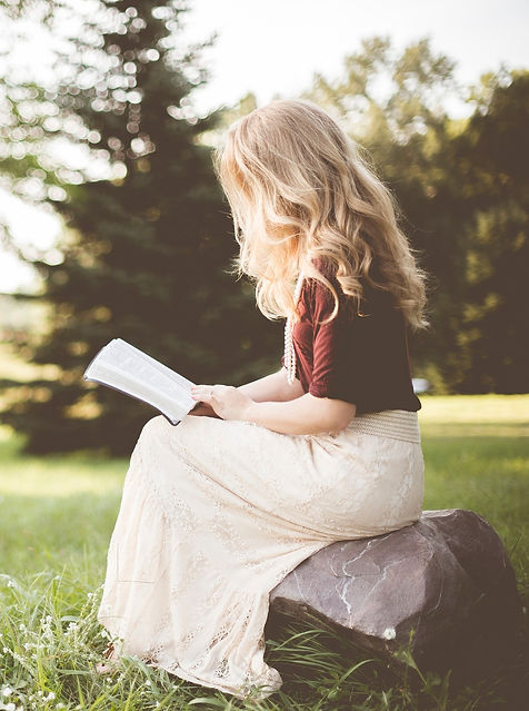 Girl reading, Corporate Retreats Monmouthshire