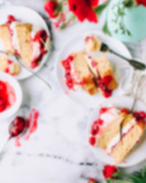 Strawberry cake, Meeting Venue Hire South Wales
