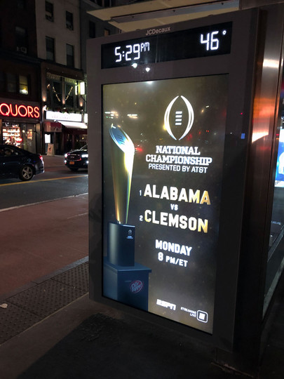 CFP Bus Stop Ad