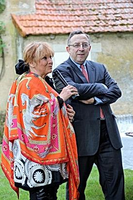 Juliette Mills et Gilles Wolkowitsch le