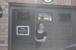 front door of Kelly RMT