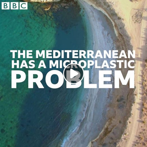 Microplastic in the Mediterranean