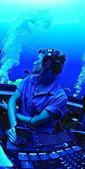 Submersible Pilot. Diana Garcia Benito