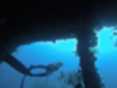 Freediving wreck