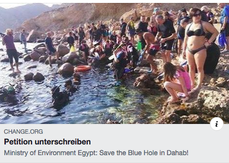 Sign the petition to save the Blue Hole